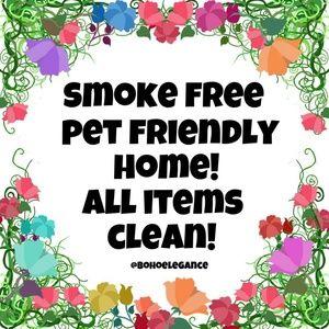Tops - Smoke free, pet friendly home! Clean items!